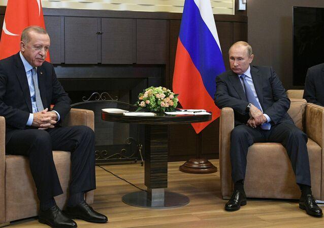 Russian President V. Putin Meets with Turkish President R. T. Erdogan
