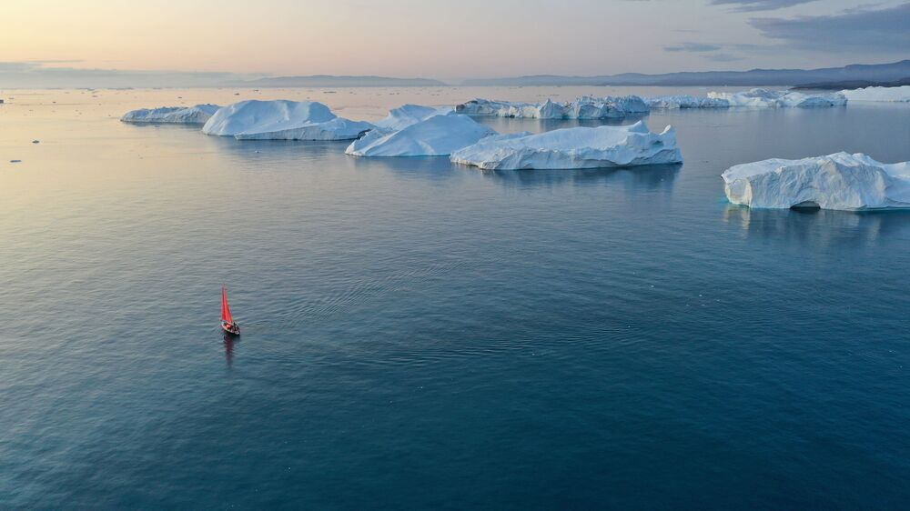 Eternal Ice Retreats Before Rusarc's Expedition to Greenland