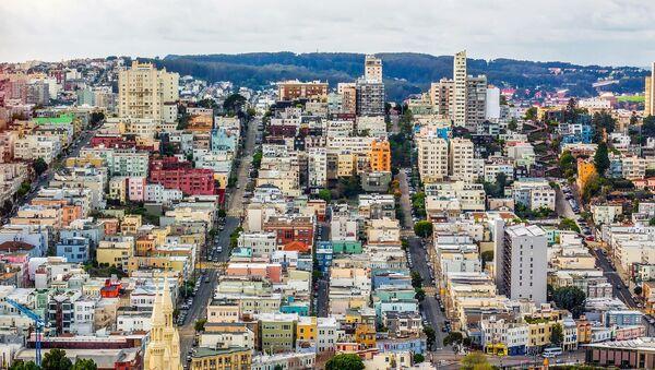 San Francisco, elevated view - Sputnik International