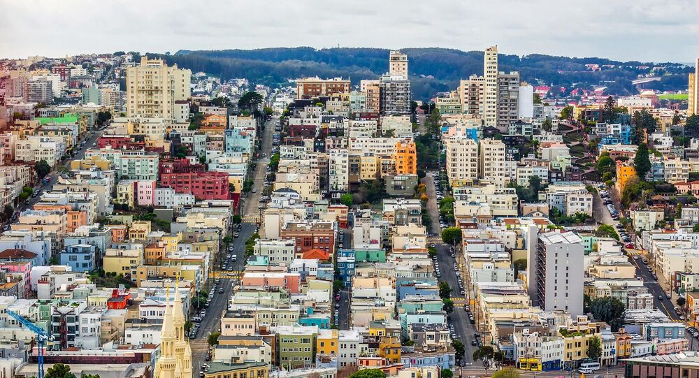 San Francisco, elevated view