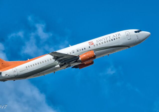 Swift Air Boeing 737-45D