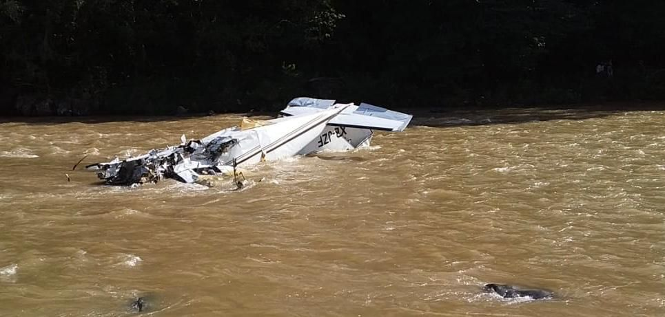 Cessna 401 crashed in Mexico