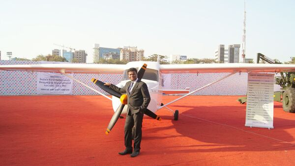Amol Yadav is now planning to launch India's first aeroplane manufacturing company. - Sputnik International