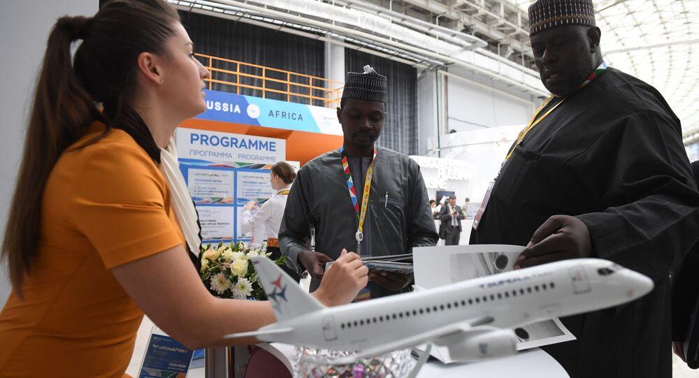 Participants of the Russia-Africa Economic Forum in Sochi