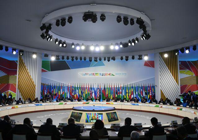 Russia — Africa  forum