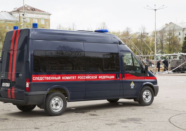 A vehicle of the Russian Investigative Committee (File)