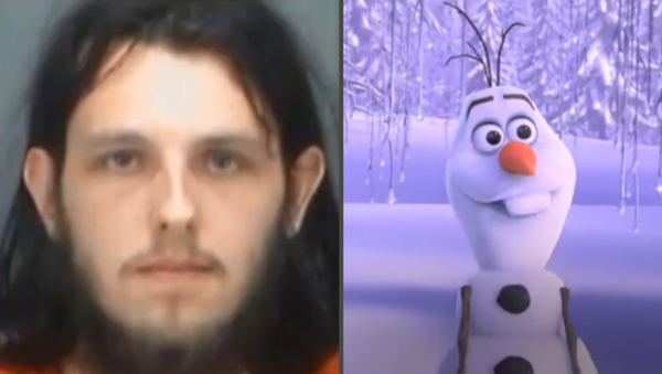 Florida man Cody Meader was arrested Tuesday on charges of criminal mischief after he entered a local area Target and proceeded to dry hump both an Olaf and unicorn plush toy. - Sputnik International
