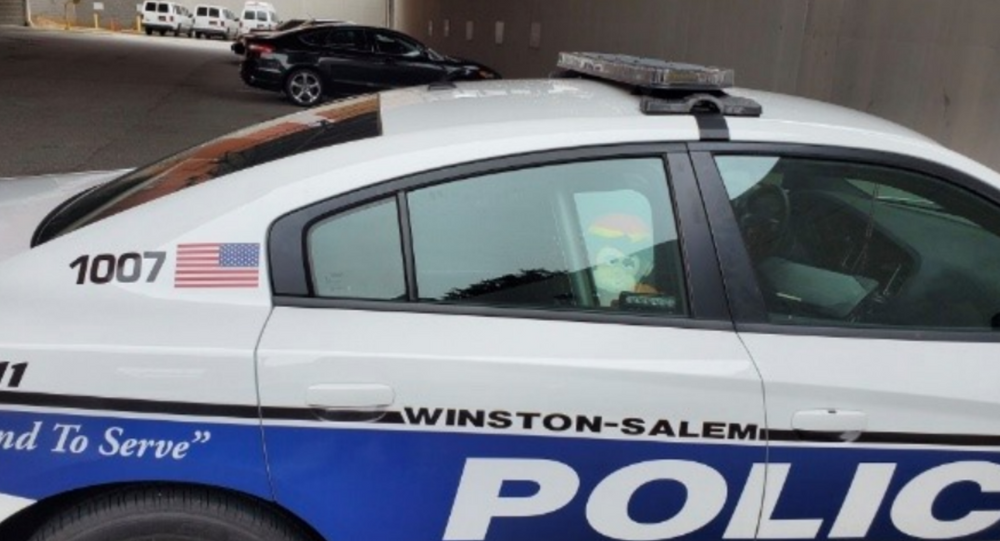 US Police Department Busted for Dreadlocked Monkey Doll in Patrol Car - Photos, Video