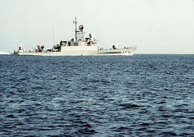 Saudi Arabian missile corvette Tabuk  (File)