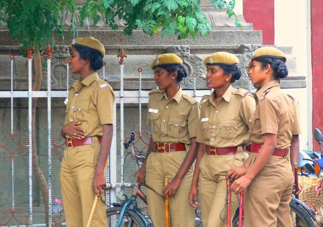 Indian police women