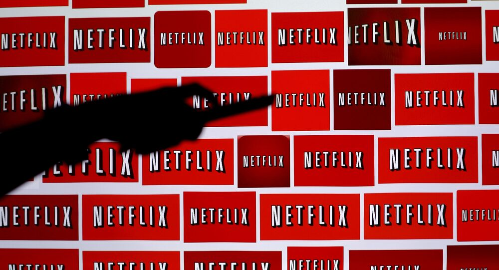 The Netflix logo is shown in this illustration photograph in Encinitas, California October 14, 2014.