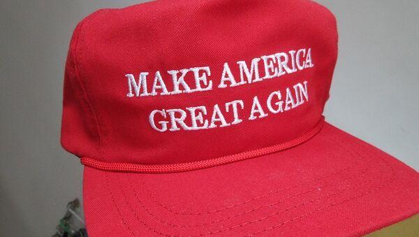 Donald Trump Make America Great Again made in USA CF headwear - Sputnik International
