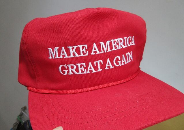 Donald Trump Make America Great Again made in USA CF headwear