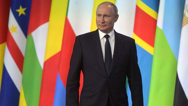 Russian President Putin takes part in the Russia-Africa Forum - Sputnik International