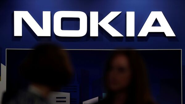 FILE PHOTO: Visitors gather outside the Nokia booth at the Mobile World Congress in Barcelona, Spain, 26 February 2019 - Sputnik International