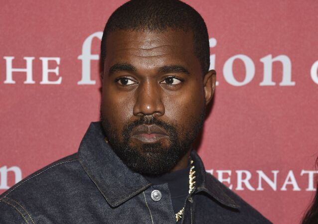Recording artist Kanye West attends The Fashion Group International's annual Night of Stars gala at Cipriani Wall Street on 24 October 2019, in New York