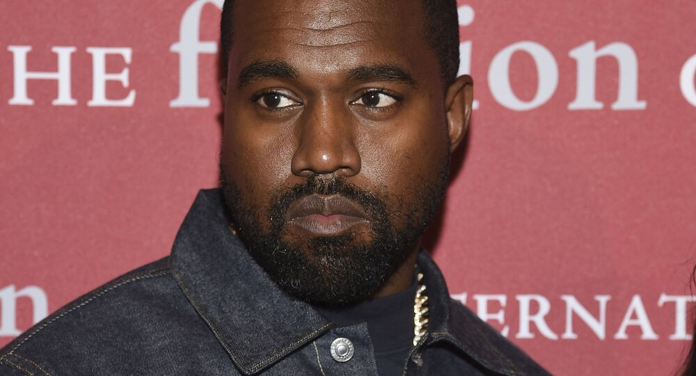 Recording artist Kanye West attends The Fashion Group International's annual Night of Stars gala at Cipriani Wall Street on Thursday, 24 October 2019, in New York