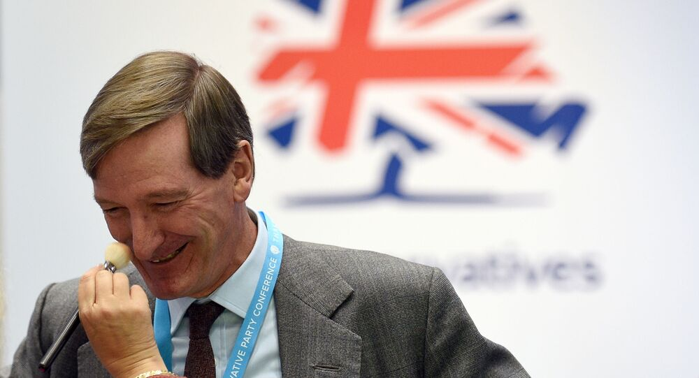 Expelled Conservative MP Dominic Grieve attends the second day of the annual Conservative Party conference at the Manchester Central convention complex in Manchester, north-west England on September 30, 2019.