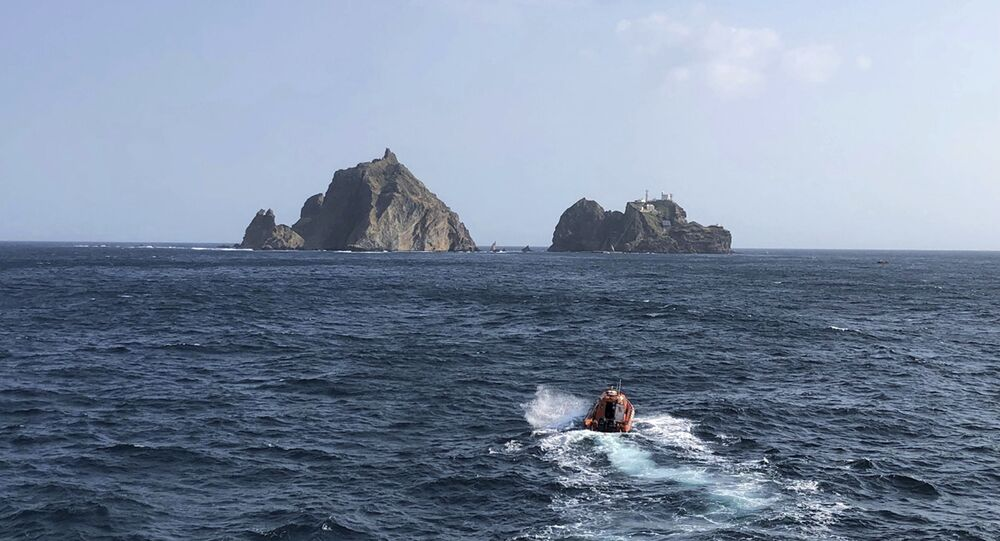 Search and rescue operations after the Dokdo helicopter crash