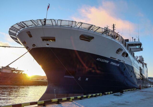 The Akademik Primakov research vessel