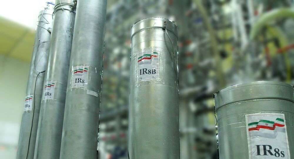 Atomic enrichment facilities at Iranian Nataz nuclear power plant