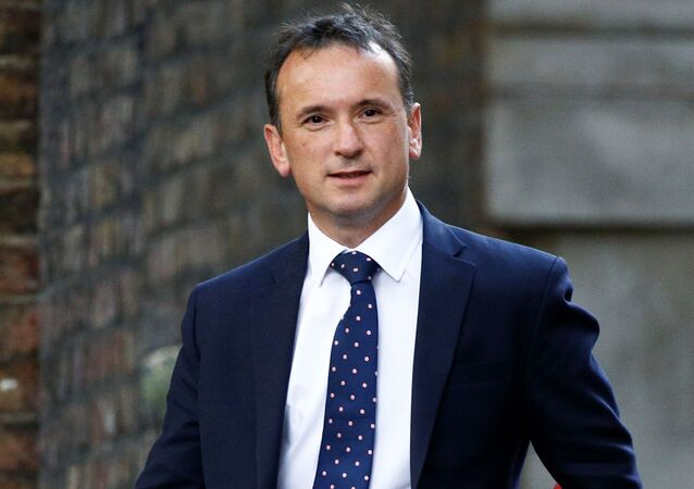 Britain's Secretary of State for Wales Alun Cairns  is seen outside Downing Street in London, Britain, October 16, 2019