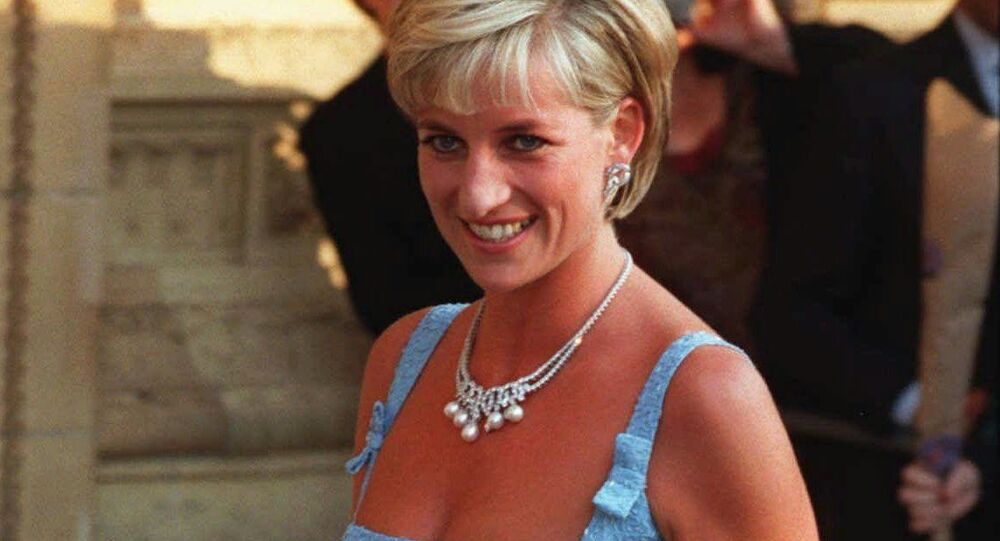 Britain's Diana, Princess of Wales, arrives at the Royal Albert Hall for a gala performance of Swan Lake in this Tuesday June 3, 1997 file photo