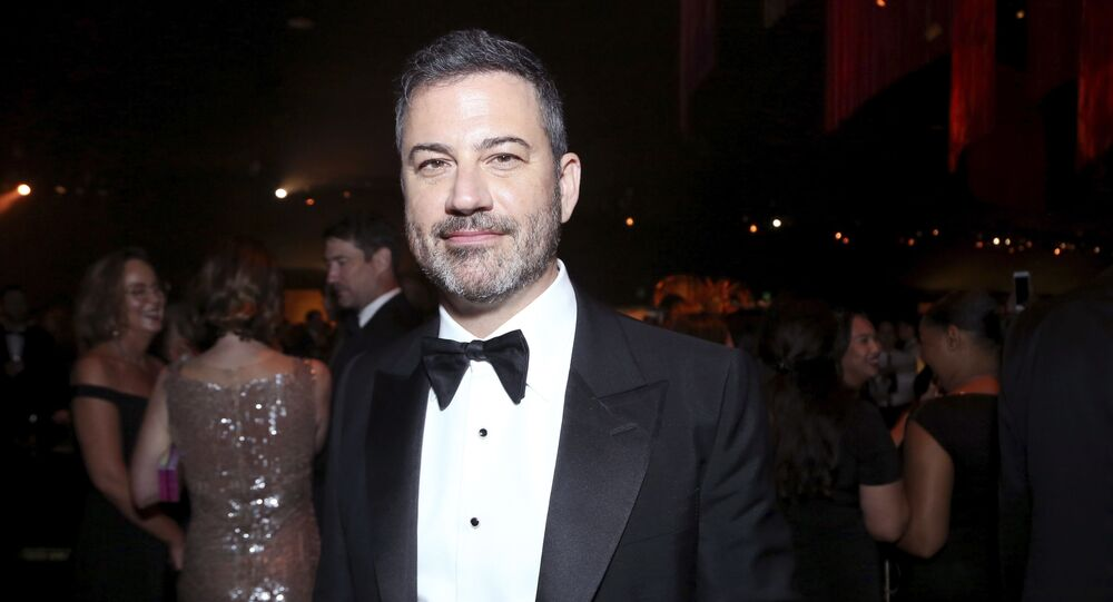 Jimmy Kimmel attends the 71st Primetime Emmy Awards Governors Ball on Sunday, Sept. 22, 2019, at the Microsoft Theater in Los Angeles