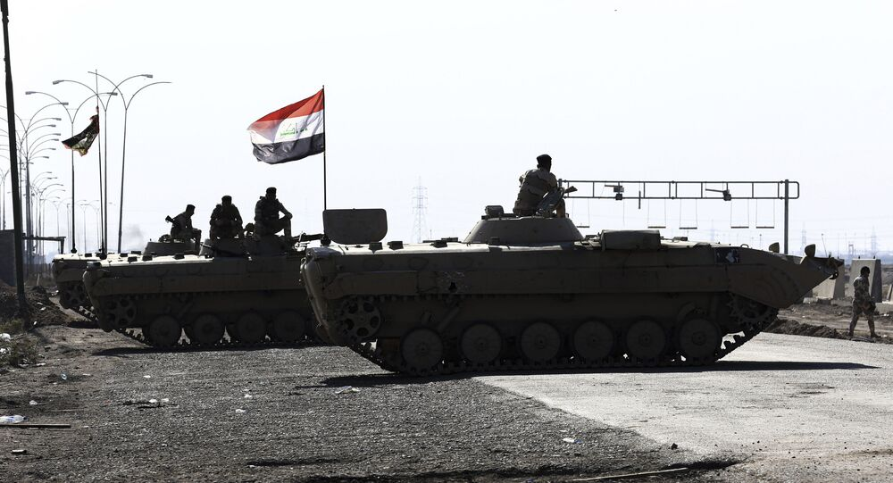 Iraqi security forces try to reopen Umm Qasr port