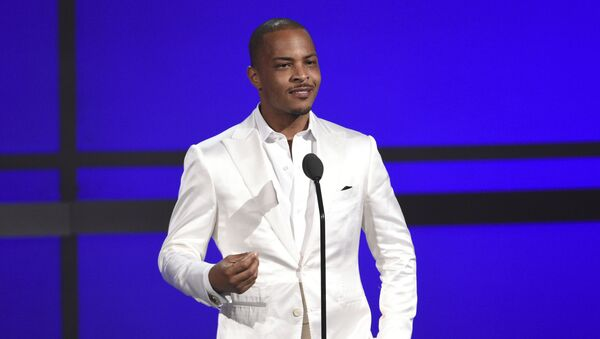FILE - This June 23, 2019 file photo shows Tip T.I. Harris at the BET Awards in Los Angeles - Sputnik International