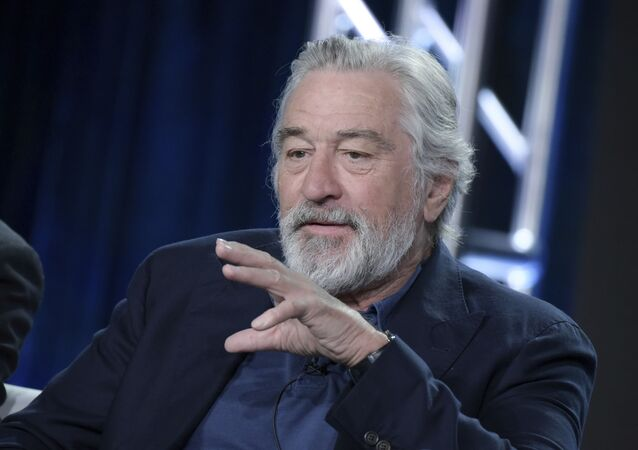 Robert De Niro attends the The Wizard of Lies panel at the HBO portion of the 2017 Winter Television Critics Association