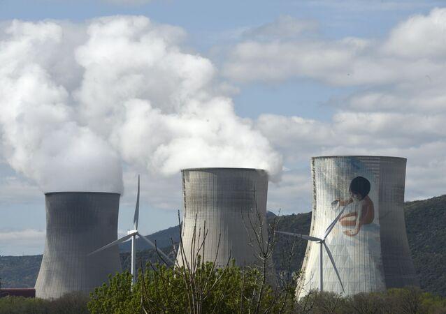 Cruas Meysse nuclear power plant