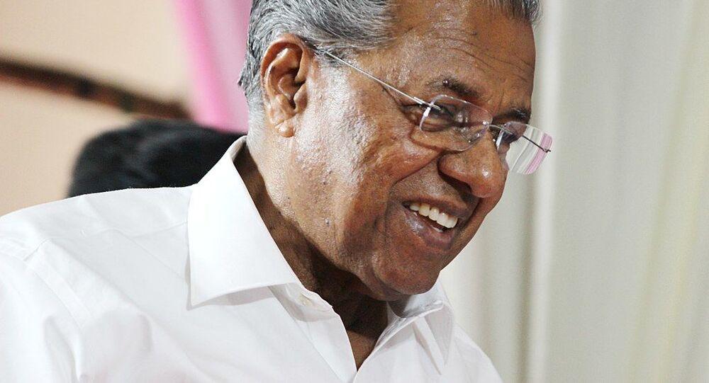 Pinarayi Vijayan, the Chief Minister of Kerala