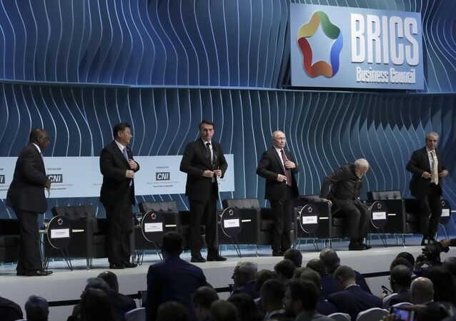 BRICS Leaders at the BRICS Business Council