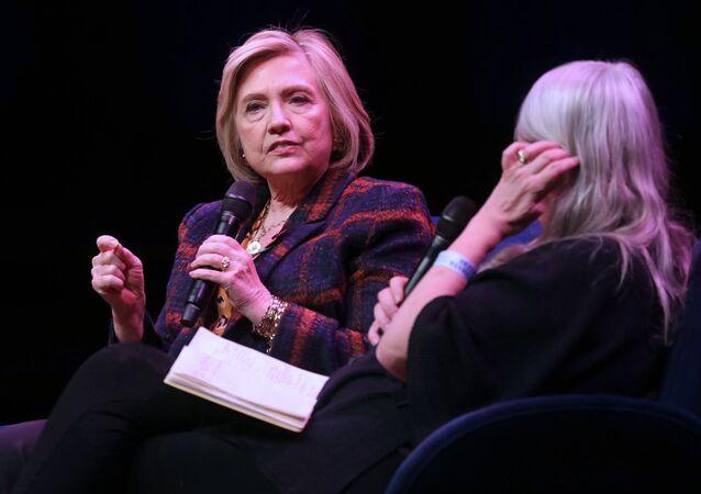Hillary Rodham Clinton at Southbank Centre's Royal Festival Hall