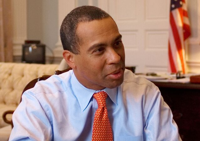 Governor Deval Patrick of Massachusetts