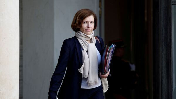 FILE PHOTO: French Defence Minister Florence Parly leaves the Elysee Palace following a cabinet meeting in Paris, France, October 21, 2019 - Sputnik International