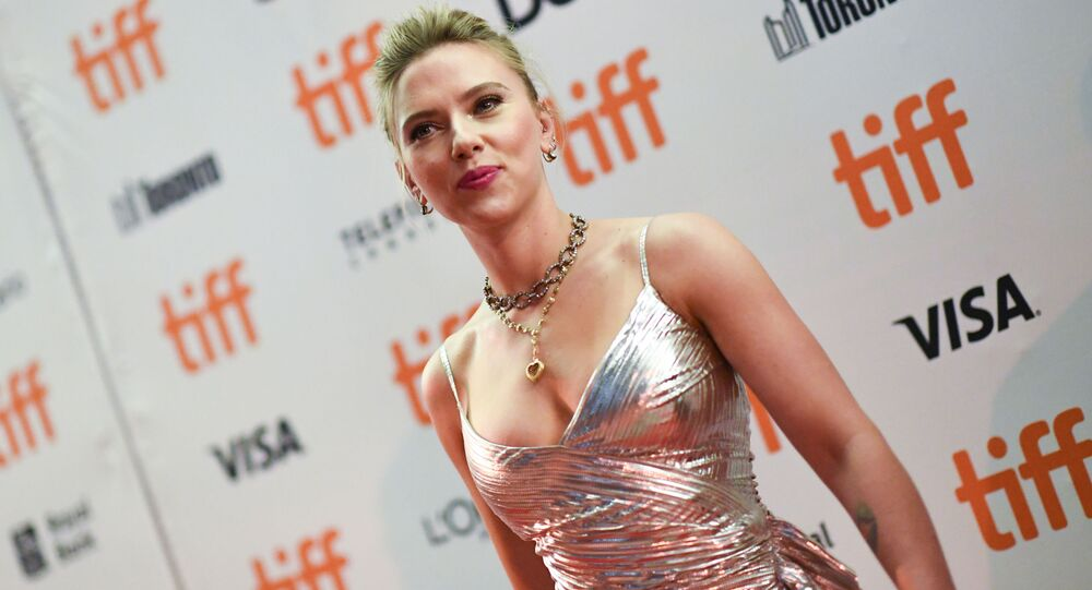 Actress Scarlett Johansson attends the special screening of Jojo Rabbit during the 2019 Toronto International Film Festival Day 4 at the Princess of Wales Theatre on September 8, 2019, in Toronto, Ontario