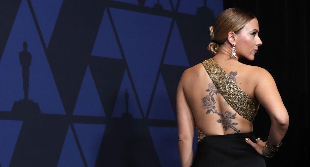 2019 Governors Awards - Arrivals - Los Angeles, California, U.S., October 27, 2019 - Scarlett Johansson