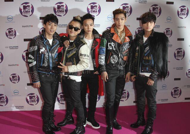 South Korean Pop group Big Bang