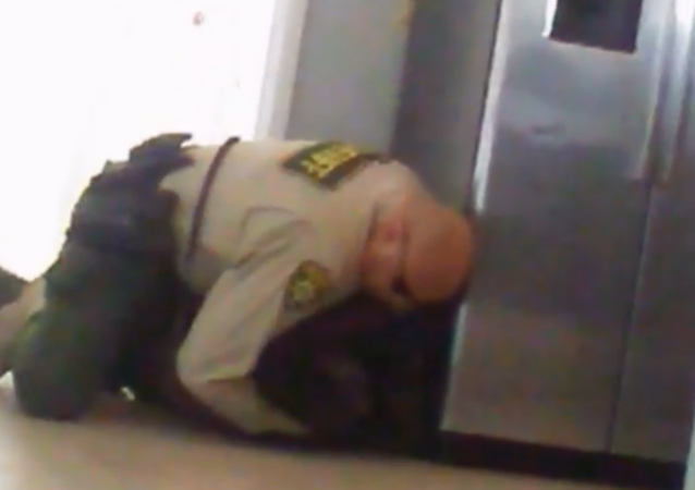 Newly surfaced cellphone footage shows the moment in which a deputy with Arizona's Pima County Sheriff's Department violently wrestled a 15-year-old quadruple amputee at a group home in September.