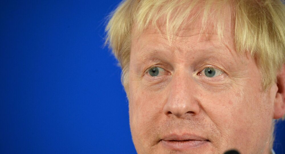 UK PM Boris Johnson