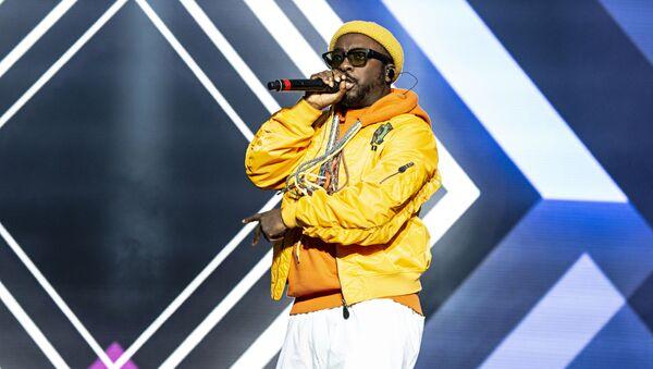 Singer Will.i.am of Black Eyed Peas - Sputnik International