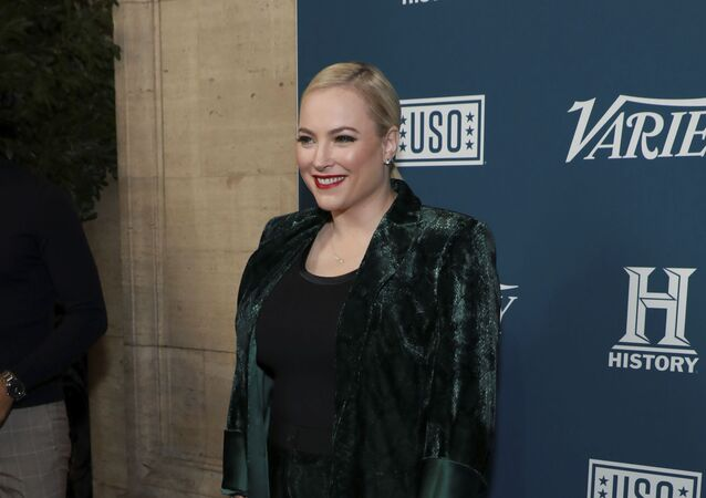 Meghan McCain attends Variety's third annual Salute to Service celebration at Cipriani 25 Broadway on Wednesday, Nov. 6, 2019, in New York. (Photo by Jason Mendez/Invision/AP)