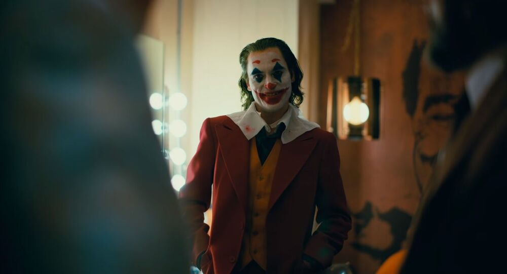 A screenshot from the final trailer for Todd Phillips's 2019 movie Joker
