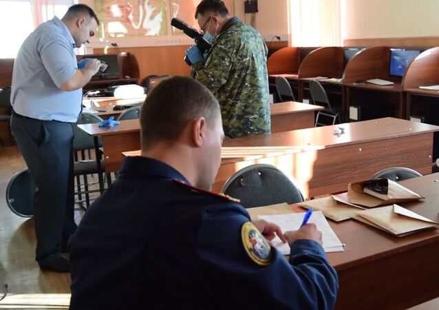 a 19-year-old student opened fire inside the college of construction and utilities in Blagoveshchensk, killing one person and injuring three others.