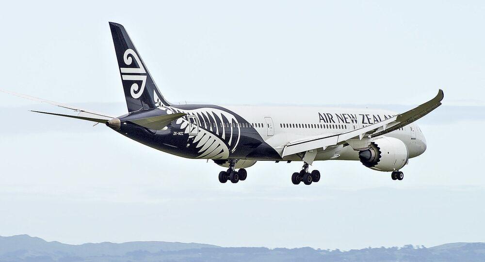 New Zealand Boeing 787-9 Dreamliner