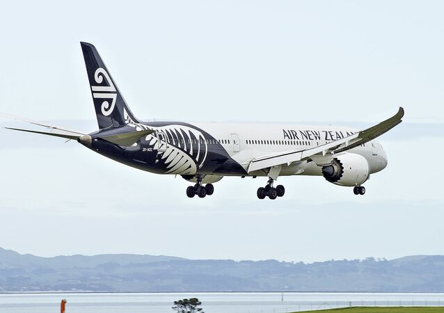 New Zealand Boeing 787-9 Dreamliner