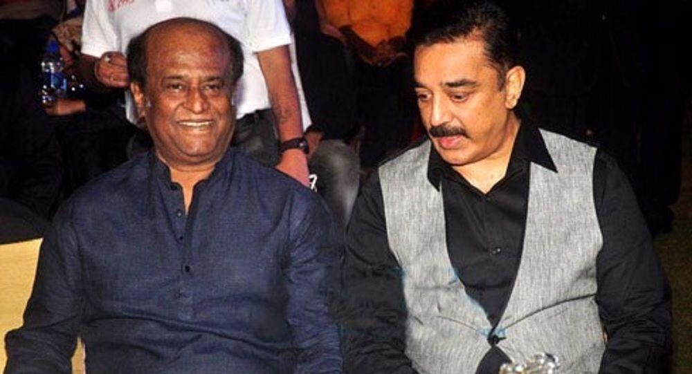 Rajinikanth and Kamal Haasan