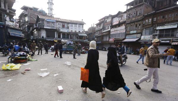 Kashmiri residents (File) - Sputnik International